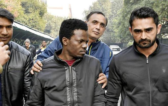 nigerian local held for rs 1 crore online fraud new delhi the