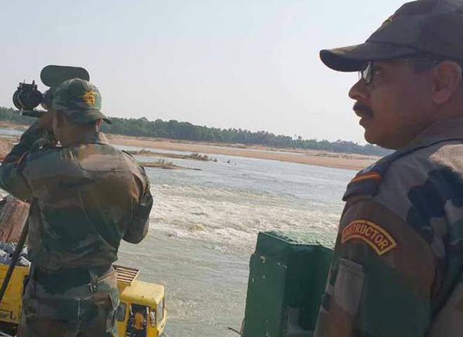 Army team satisfied with restoration work on regulator