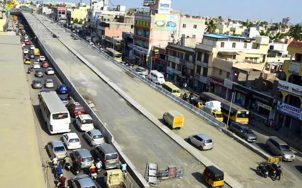 TN Chief Minister opens Porur flyover in Chennai