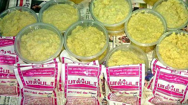 Manapparai Milk Cooperative Society is unable to meet the demand for the khova it makes.Special Arrangements