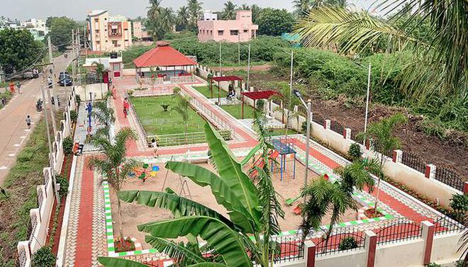 A view of the new park opened at Sanjeevi Nagar.M. MoorthyM_Moorthy