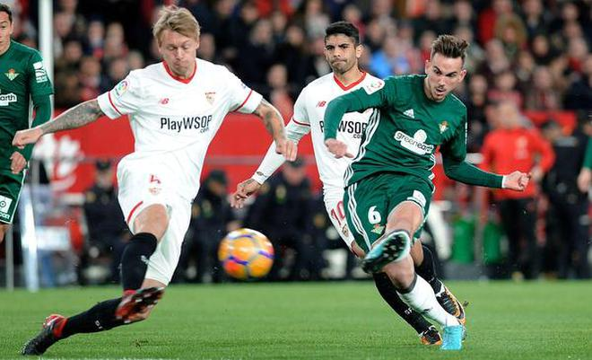 The Openerfabian Ruiz Set Real Betis On Course To An Incredible Victory Against Sevilla